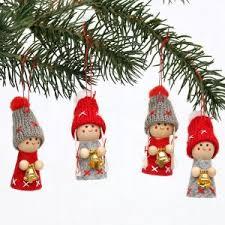 Christbaumschmuck Anhänger Weihnachtskugeln Spitzen Figuren