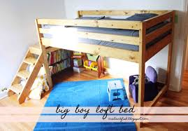 Loft Toddler Bed Diy Ana White Big Boy Toddler Loft Bed Diy Projects