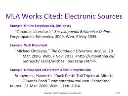 works cited mla format web sources google search study skills works cited mla format web sources google search