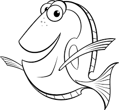 Small Picture Dory Coloring Pages Best Coloring Pages For Kids