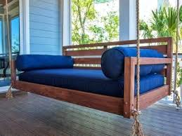 hanging porch bed beautiful hanging porch swing bed hanging porch bed plans