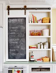 Retro Chalkboards For Kitchen 21 Fresh Ways To Incorporate Barn Doors Into Your Home Cabinets