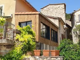 extension en ossature bois d une maison