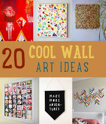 want to add some wall art on your dull wall look no further here s the perfect list you can check for diy wall art ideas that you can make inside or