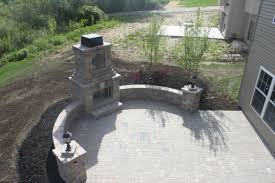outdoor fireplace paver patio: feel free to contact columbus paver patios an akron ohio landscape contractor for a no obligation free quote on your next firepit fireplace outdoor
