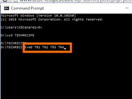 Create A Directory Create A Folder Using Cmd In Windows