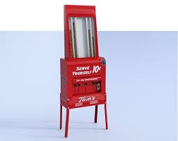 Vintage Peanut Vending Machine Beauteous 48D Vintage Peanut Vending Machine Model Poser World Professional 48D