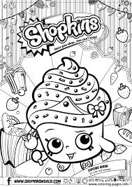 Small Picture shopkins cupcake queen Coloring pages Printable