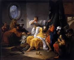 the execution of socrates in the phaedo during the voyage of the sacred ship to and from delos which hasoccupied thirty days the execution of socrates has been deferred compare xen mem