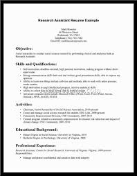 Resume Social Science Research Jobsxs Com