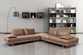 apartment size leather furniture. Sofa, Apartment Size Sofas Design Modern Brown Leather Corner Foot Shape Chrome Iron Sofa Plus Furniture