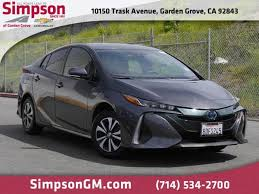 garden grove toyota prius prime 2017 magnetic gray metallic used car for 311753a