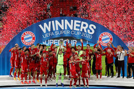 The 2019 uefa super cup was the 44th edition of the uefa super cup, an annual football match organised by uefa and contested by the reigning champions of the two main european club competitions, the uefa champions league and the uefa europa league. Quadruple Kings Bayern Downs Sevilla To Lift Uefa Super Cup Daily Sabah