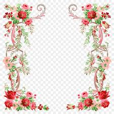 flower border design clipart fl design borders and frames clip art