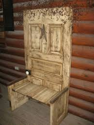 furniture made from doors. Unusual Chair Hand Made Furniture And Decorations From Old Doors Wood
