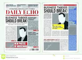 Newspaper Template Psd Printable Old Style Paper 20 Old Newspaper Templates Psd