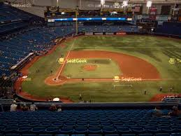 Tropicana Field Section 131 Seat Views Seatgeek