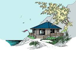 beach bungalow design 013h 0088