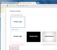 Free Themes For Google Slides How To Import Theme Slides In Google Slides