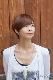 韓国ヘアスタイル韓国女子 顔がもっと小さく見えるマッシュルーム