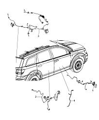 2012 dodge journey wiring doors liftgate diagram i2270114