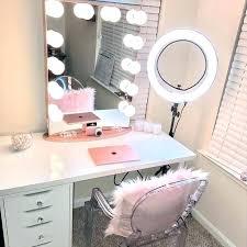makeup dressing table mirror lights desk light with regarding inspirations vanity