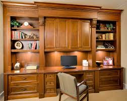 Built In Home Office Designs Extraordinary Ideas Custom Office Cabinetry  Shelving Desk