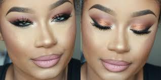 bronze and smokey prom 2016 makeup tutorial mini vlog