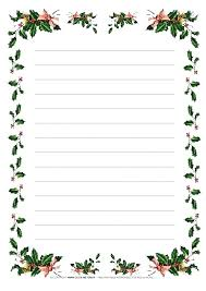 Inspirational Free Christmas Stationery Template New Free Holiday