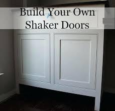 make your own cabinet door shaker kitchen