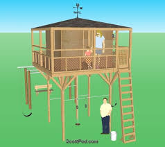 diy playhouse plans free elegant plans for playhouse on stilts build a special place for the