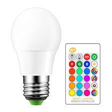 abedoe changing rgb magic light bulb l 5 10 15w 85 265v 110v 120v 220v rgb led light spotlight ir remote control 3 way led bulb light bulbs from