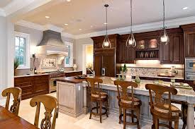 ... Beautifully Alligned Well Placed Pendants Lighting In Kitchen Pretty  Shine Curvy With Chains Royal ...