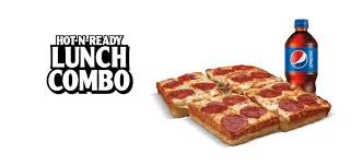 hot n ready reg lunch combo little caesars pizza lunch%20combo