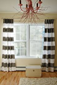 Striped Living Room Curtains 123 Best Images About Diy Curtains On Pinterest Drop Cloth