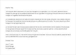 Recommendation Letter Sample For Job Referral Employee