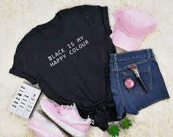 <b>Black is my happy</b> color | Etsy