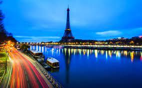 Morning In Paris France Eiffel Tower ...