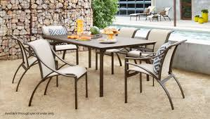 Brown Jordan Outdoor Kitchens Brown Jordan Pasadena Brown Jordan Pasadena 7 Piece Outdoor Dining