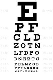 Eye Chart Actual Size Printable Snellen Eye Chart Eye Chart Eye Chart Printable