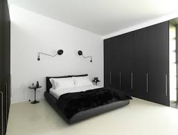 White U0026 Black Bedroom Interior Design From Ian Moore.