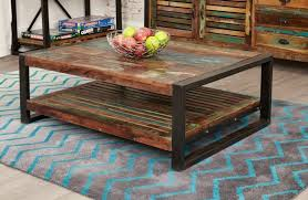 Image Urban Outfitters Baumhaus Urban Chic Reclaimed Wood Rectangular Coffee Table Choice Furniture Superstore Buy Baumhaus Urban Chic Reclaimed Wood Rectangular Coffee Table