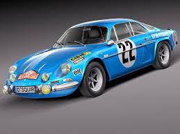 modèle 3D de Renault Alpine A110 Rallye 1963-1974 - TurboSquid 685094