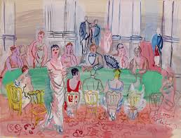 la fete by raoul dufy slated for by the berkshire museum