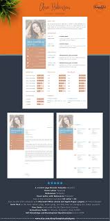 Creative Simple Resume Template For Word And Pages Cv Template