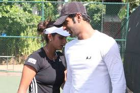 icc champions trophy sania mirza lauds shoaib k s commitment sania mirza