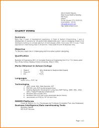 Most Recent Resume Format 2015 Sidemcicek Com