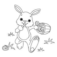 easter bunny coloring pages. Unique Coloring Coloring Page Of Happy Easter Bunny Intended Pages C