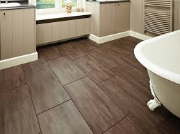 Brown Sheet Vinyl Flooring Bathroom Best Design Ideas Wood Tile