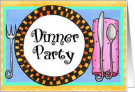 Invitation Card For Dinner Party Dinner Party Invitations From Greeting Card Universe